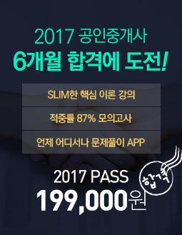 공인중개사 2017 PASS