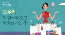 '요우커' 왜 한국에 오고 무엇을 사는가?