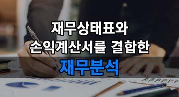 재무상태표와 손익계산서를 결합한 재무분석