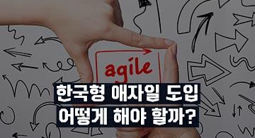한국형 애자일 도입 어떻게 해야 할까?