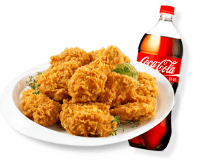 BHC 치킨+콜라